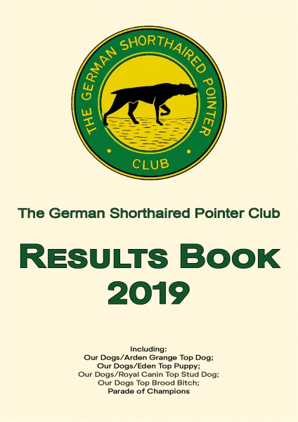 Results Book 2019 Front Page