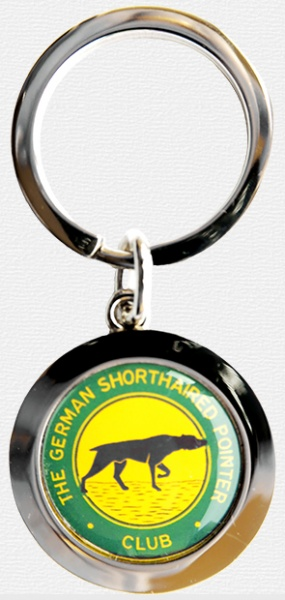 Keyring with background